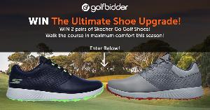 Win 2 pairs of Skechers Go golf shoes