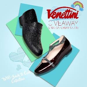 Win 2 Pairs of Venettini's Back to Cool Collection