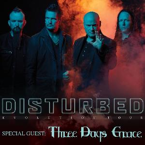 Win 2 tickets to see Disturbed Live