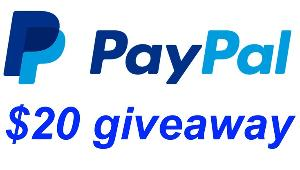 Win $20 Paypal Cash!!