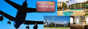 WIN: $200 Airline Gift Card & 2 -night Stay at Ramada Inn in Carlsbad, CA