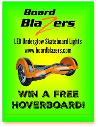 how to win a free hoverboard