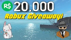 Win 20k Robux!!