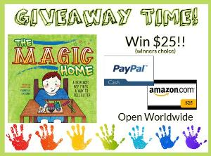 Win $25 Amazon.com Giftcard or Paypal Cash!!