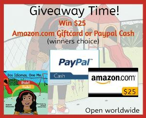 Win $25 Amazon GC or Paypal Cash!