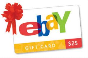 Win $25 Amazon or eBay Gift Card