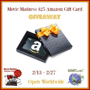 Win $25 Amazon or Starbucks gift cards