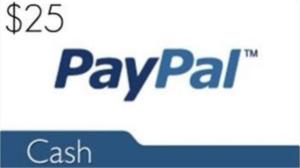 Win 25 Dollars Cash on PayPal!!