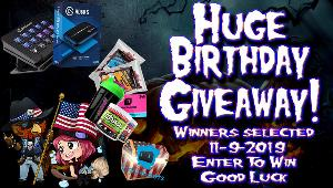 Win 25 Streamloots Chests From Rooster & Waifu- 1 winner ;$40 Store Credit/2 Tubs/Shaker + 2 bags of JerkyXP -1 winner ;Elgato Stream Deck + Elgato HD60S Capture Card-1 winner!!
