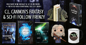 Win 3 bestselling Fantasy & Sci-fi books plus one baby Yoda coffee mug, a Lord of the Rings Gandalf Funko pop, The Expanse board game, and a set of dragon bookends!