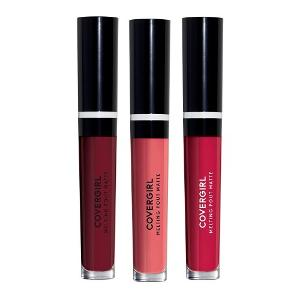 Win 3 COVERGIRL Melting Pout Matte Liquid Lipstick!
