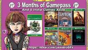 Win 3 Months of Gamepass + 6 Indie Games (Xbox One)!!