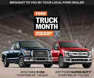 WIN: $30,000 towards a new Ford Vehicle!