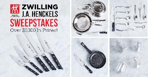 Win $3000 In Prizes From Kitchen Stuff Plus & ZWILLING J.A. Henckels