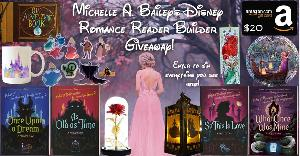 Win 4 paperbacks,  One Ariel bookmark, One Beauty & the Beast glass rose, One pack of Sleeping Beauty stickers, One Disney castle coffee mug, One Up adventure book, One Tangled hanging ornament, One Cinderella light, & a $20 Amazon gift card!