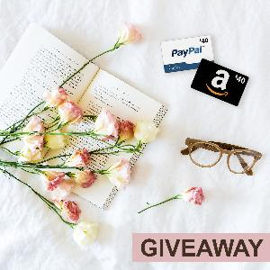 Win $40 Paypal Cash or Amazon Gift Card!