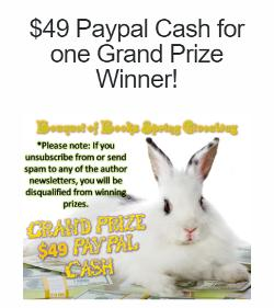 Win $49 Paypal Cash for one Grand Prize Winner!+ lots of other prizes!