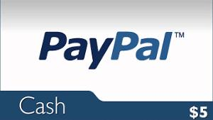 win $5 PayPal for free