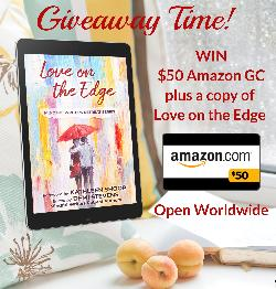 Win $50 Amazon.com Gift Card plus a Love on the Edge paperback - open Worldwide!
