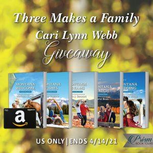 Win $50 Amazon gift card, complete set of the 5 Blackwell Sisters books & spring assortment of candy (US only)!