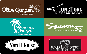 Win $50 Darden Restaurants or Fandango Gift Card