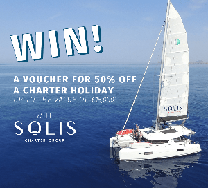 WIN 50% OFF a charter holiday courtesy of Solis Charter Group - up to the value of €15,000!