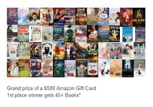 Win $500 Amazon Gift Card & books!