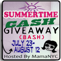 Win $500 Cash in the Summertime Cash Giveaway Bash