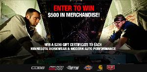 WIN: 500 in merchandise