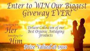 WIN: $500 In Organic Skin Care