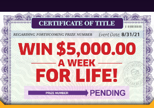 Win $5000 Cash Prizes Sweepstakes