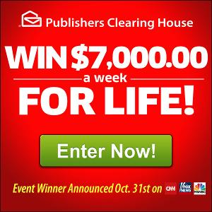 Win $7,000 A Week For Life