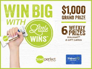 Win a $1,000 Walmart Gift Card or 5 Weekly Prizes of $300 Walmart Gift Card