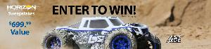 Win a 1/8 LST 3XL-E 4WD Monster Truck Brushless RTR with AVC