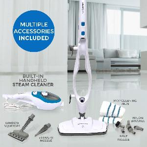 Win a 10-in-1 Steam Mop Cleaner!