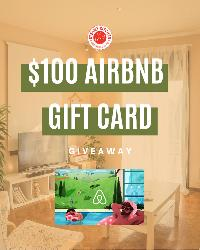 Win a $100 Airbnb Gift Card!