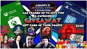 Win a $100 dollar Gift Card of your choice!