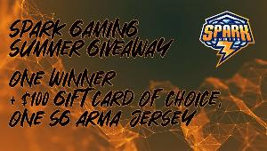 Win a $100 Gift Card of Choice + Spark Gaming Jersey!