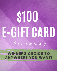 Win a $100 gift card of your choice!