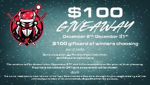 Win a $100 gift card to your choice Xbox, PSN, Steam, Amazon!!
