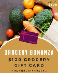 Win a $100 Grocery Gift Card!