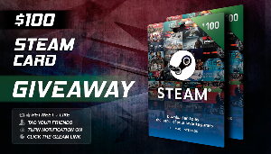 Win a $100 Steam Giftcard