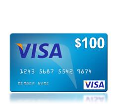 WIN: a $100 Visa gift card