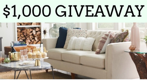 Win a $1000 La-Z-Boy Gift card!