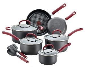 Win a 12-Piece T-fal Ultimate Hard Anodized Dishwasher Safe Nonstick Cookware Set