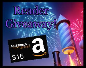 Win a $15 Amazon gift card!!