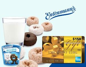Win a $150 Amex Gift Card & a Year Supply of Entenmann's Donuts!