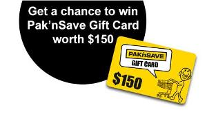 Win a $150 Pak n Save GiftCard