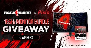 Win a 165Hz Gaming Monitor & Back 4 Blood Game Codes (PC)!!
