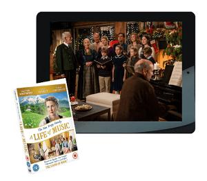 Win a 16GB Apple iPad Air plus The Von Trapp Family: A Life of Music DVD!